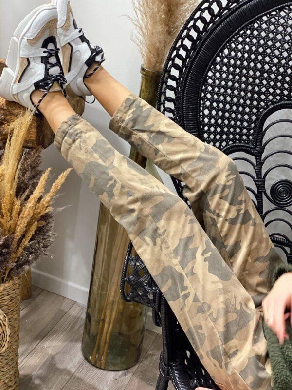 Pantalon militaire jade et lisa