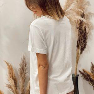 Tshirt MERCI Blanc Grâce&Mila - Jade & Lisa