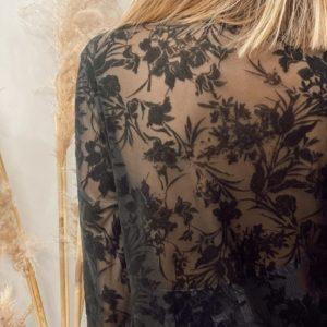 Blouse Glamour Noire - Jade & Lisa
