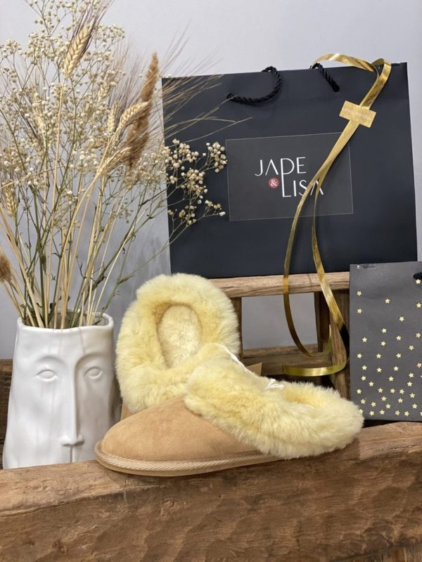 Chaussons Doudou Sheep by the Sea - Jade & Lisa