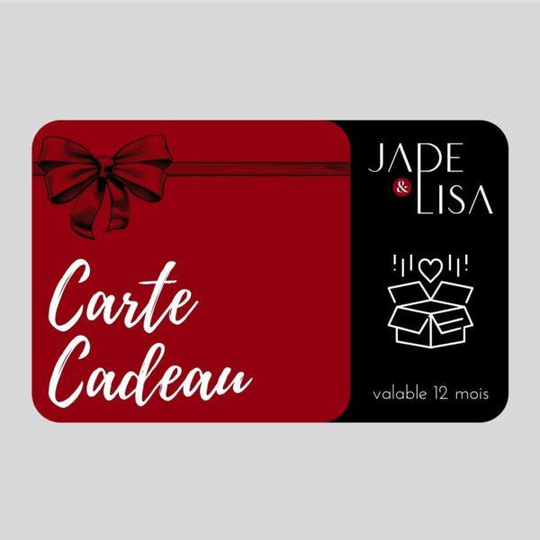 E-Carte cadeau - Jade & Lisa