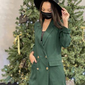 Combi short robe verte jade et lisa