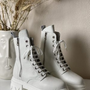 Army boots a lacet jade et lisa
