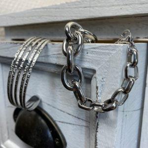 Bracelet henry argenté jade et lisa
