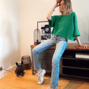 Jeans «Paloma» Nagev Jade et lisa