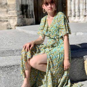 Robe portefeuille Lili - Jade & Lisa