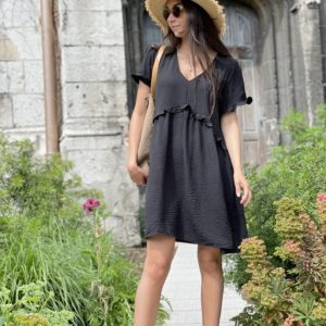 Robe «la petite robe noire» - Jade & Lisa