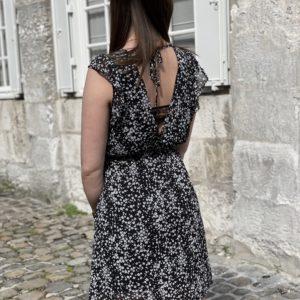 Robe Justine noire - Jade & Lisa