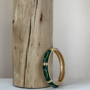 Bracelet jonc «molly» jade et lisa