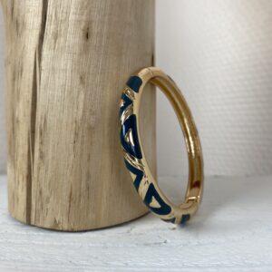 Bracelet jonc «noush» jade et lisa