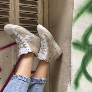 """Baskets SMR """"mouton"""" jade et lisa"""
