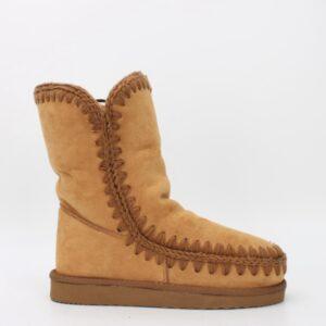 boots fourrées camel jade et lisa