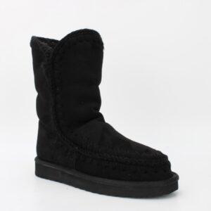 boots fourrées noires jade et lisa